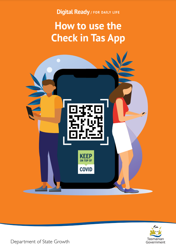 How to use the Check in TAS app