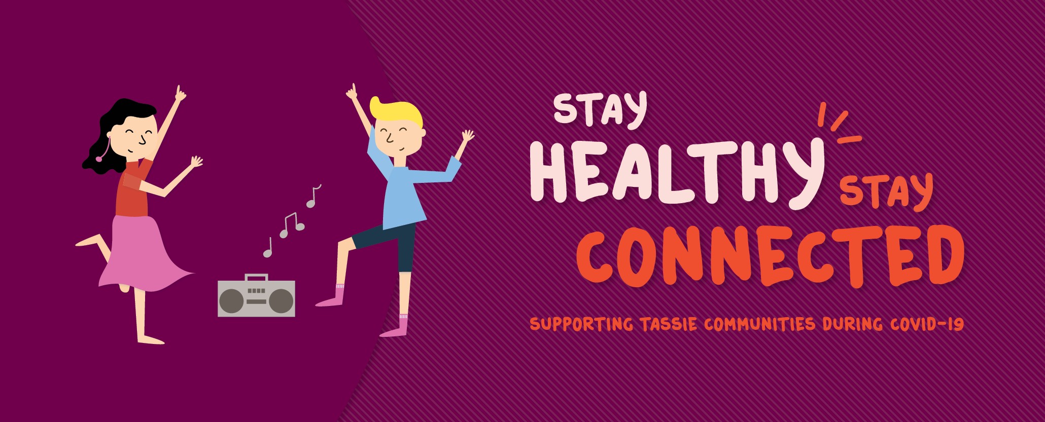 stay-healthy banner